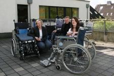 Pro Mobil übergibt Rollstühle für Afrika