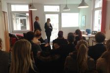 Präsentation der Arbeitsergebnisse der EMBA-Medienakademie bei KoKoBe in Velbert, 2012