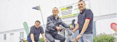 Ein neues Elektro-Dreirad für Jörg Elsner