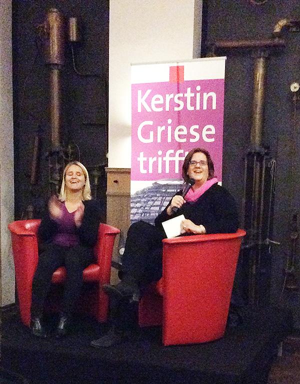 Kerstin Griese trifft Verena Bentele im Bürgerhaus Ratingen