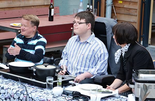 Pro Mobil Quartiersfest Am Kostenberg Volker Westermann Constantin Grosch Margit Benemann