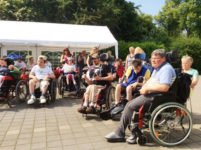 Pro Mobil Velbert die Wohngemeinschaften feiern ein Sommerfest 2015