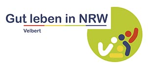 Grafik Logo Gut Leben in NRW mit Zusatz Velbert