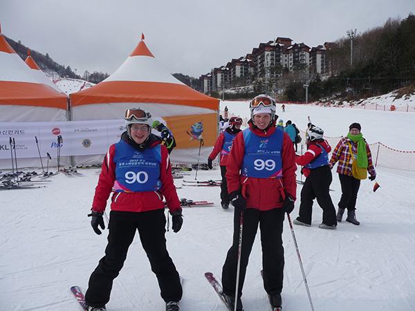 Katharina Bachmann nimmt als Skiläuferin teil bei den Special Olympic Games 2013
