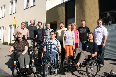 Pro Mobil Velbert unternimmt eine Fahrradtour mit der Spardabank im Rahmen des Projekts Seitenwechsel