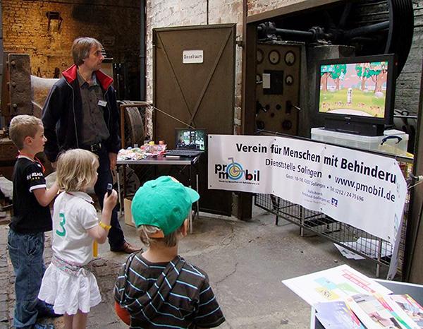 Pro Mobil beteiligt sich beim Familientag in Solingen, 2014