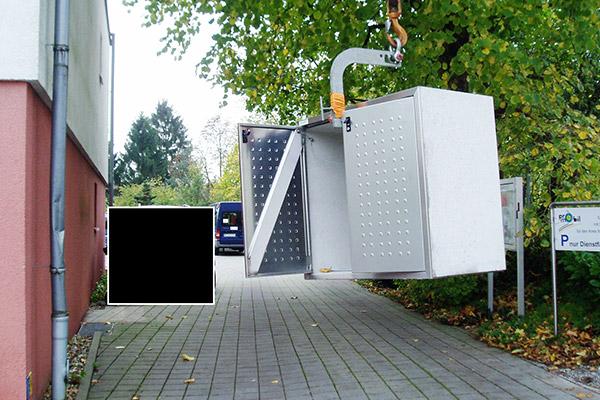 Fa. Wolff aus Mönchengladbach spendet neues Abfallsystem für Pro Mobil