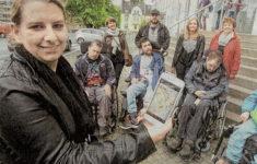 Stadterkundung im Rollstuhl Berichterstattung