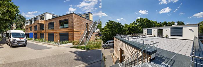 Gebäude des Wohnprojekts Kostenberg von Pro Mobil in Velbert