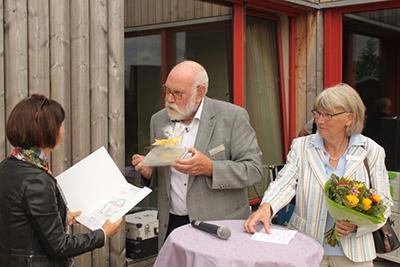 Förderzusage des Förderverein der NRW Stiftung durch die ehrenamtlichen Regionalbotschafter Herr und Frau Reuter