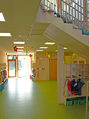 Innenansicht Pro Mobil Kindertagesstätte Solingen